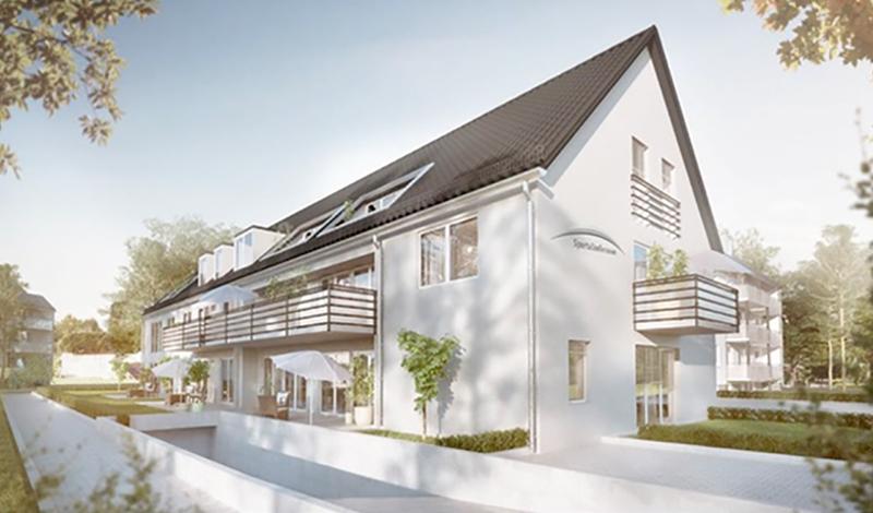 Neubau Gersthofen Sportallee 13 Wohneinheiten in 2018/2019 verkauft
