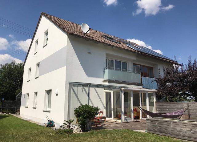 Doppelhaus Schmiechen in 2018 verkauft.