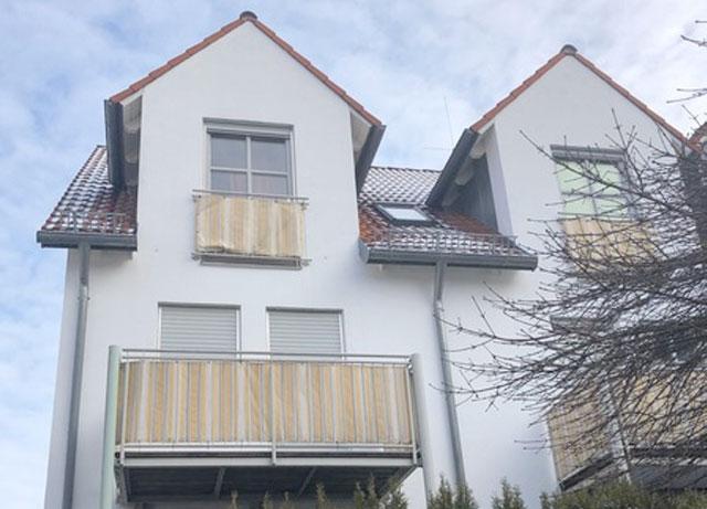 Dach Maisonette Kissing in 2019 verkauft.
